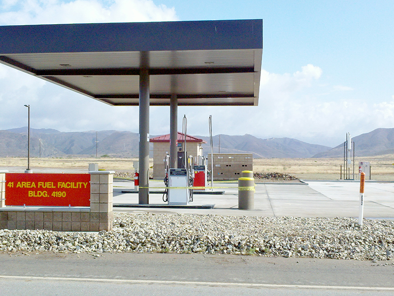 COCO Military Fuel Tank Facilities Installed by Western Pump - Camp Pendleton, CA
