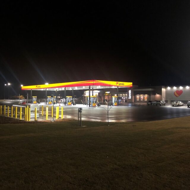 of Love's new Travel Stop in Bliss, ID | Western Pump Construction