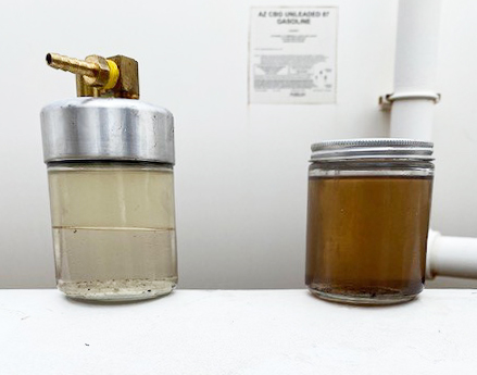 Fuel Sample - Martori Farms Aguila Western Pump Fuel System Cleaning Services